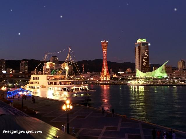 port de kobe au japon