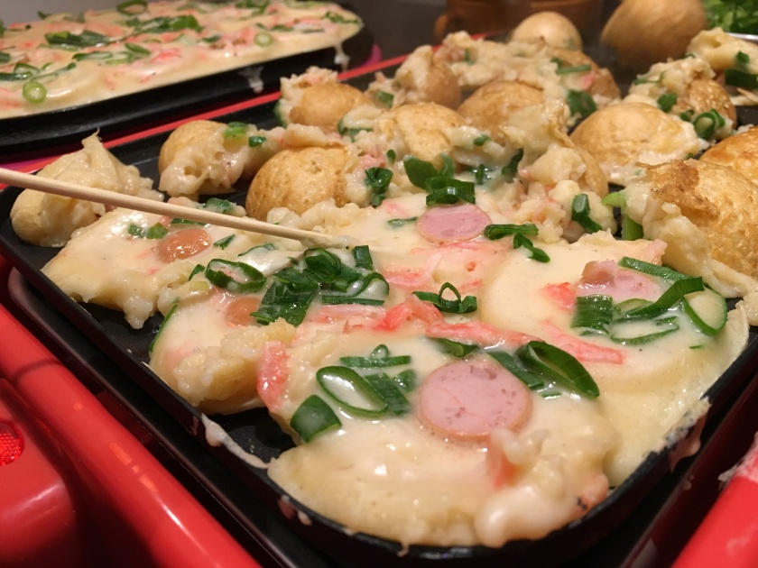 Venez faire vos propres takoyaki