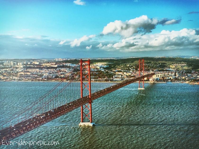 La meilleure vue pour le pont se trouve ici