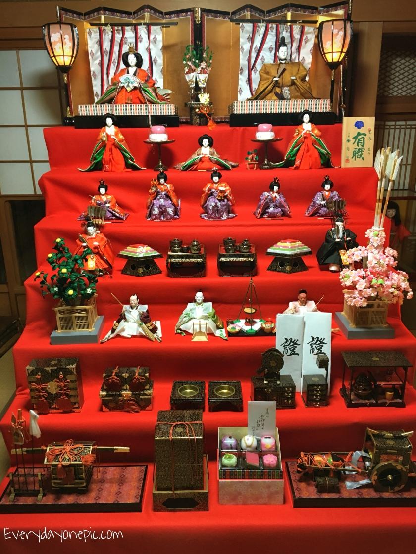 poupée hina matsuri japon