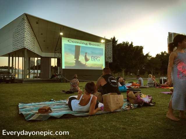 cinéma outdoor
